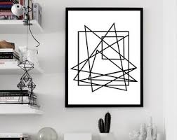 >black white wall art etsy geometric print minimalist poster large abstract art print black white wall art scandinavian art modern art print geometric art lines