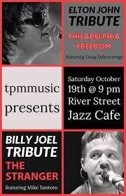 Billy joel 1984 keeping the faith original promo poster. The Stranger Billy Joel Tribute Philadelphia Freedom Elton John River Street Jazz Cafe Plains Pa October 19th 2019 9 00 Pm