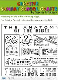Anatomy Of The Bible Coloring Page Favorite Coloring Supplies