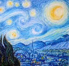 the painting starry night van gogh free copy natalia sidorova