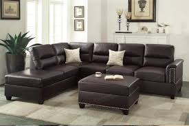 brown leather sectional sofas.  Brown Rousey Brown Leather Sectional Sofa On Sofas