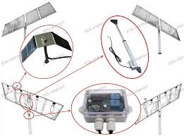 1kw solar tracking system single axis complete kit sunlight track solar tracker ecoworthy