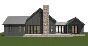 engaging barn style floor plans 0 front