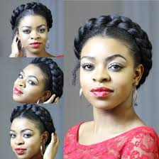 Goddess Hair Style faux goddess braid natural hair protective style youtube 4923 by wearticles.com