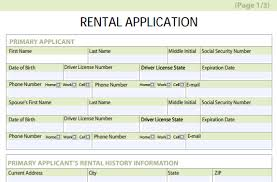 Credit Application For Rental Rental Application Form Free Download Gratulfata Rental Application