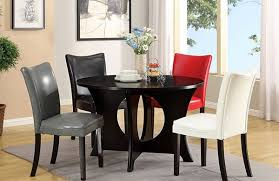 a burst of colors from 20 dining sets with multi colored chairs intended for por residence diffe color dining room chairs designs