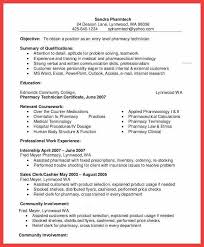 Ideas Collection Resume Canada Template Cool Pharmacy Technician