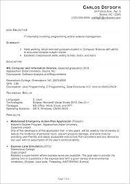 Summer Internship Resume Accounting Internship Resume Objective Englishor Com