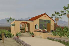 small adobe house plans beautiful adobe southwestern style house plan 1 beds 1 baths 398