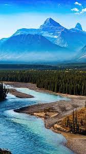 Forest Landscape Mountain Nature River ...