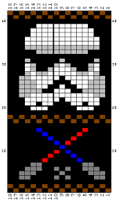 Fair Isle Knitting Charts Fair Isle Patterns From The Movie Star Wars Knitting And Com