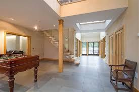 basement tile flooring. Finished Basement With Large Format Tile Flooring S