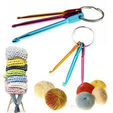 3pcs 3 4 5mm aluminum crochet hook knit knitting needle weave yarn diy tool