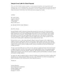 Grant Request Letter Template Of Intent Application Proposal