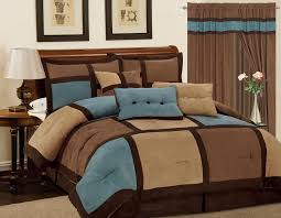 charming design brown king size comforter set sets blue and co with