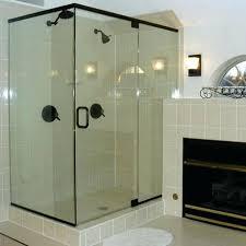 bathroom shower glass enclosures bathroom glass shower door repair