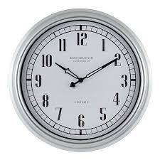 indoor outdoor wall clock by equity