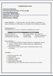 Technical Skills In Resume Lovely Curriculum Vitae Word Format