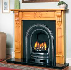 the clifton arch cast iron arched fireplace insert from victorian fireplace uk