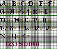 Cross Stitch Alphabet Patterns Interesting Cs48 Fancy Alphabet Wonderful Stitches