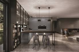 fusion antis euromobil. Lacquered Fitted Kitchen With Peninsula ANTIS | Aluminium By Euromobil Fusion Antis I