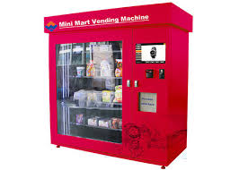 Kiosk Vending Machine Adorable Automatic Mini Mart Vending Machine 48 Inch Touch Screen
