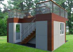 garden office design ideas. Garden Office With Roof Deck Design. A Home For The Backyard. Design Ideas