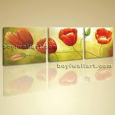 tulip wall art print