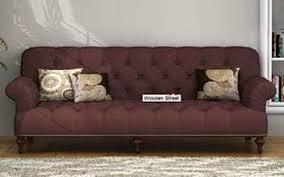 sofa set. Stenson 3 Seater Sofa Set Online Shopping Pune G