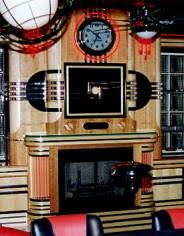 Art Deco Fireplace Mantel Art Fireplace Surround Art Deco Art Deco Fireplace