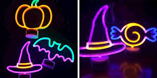 Halloween Neon Lights Target Targets 5 Neon Lights Give Your Home An Instant