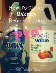 how to clean makeup brushes like a pro i tried this over the weekend and i m impressed at how well this worked i love it