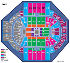 Wwe Live Seating Chart Wwe Live Holiday Tour Xl Center