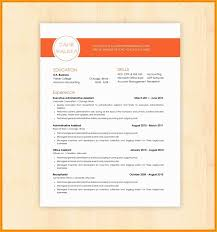 42 Free Job Resume Templates For Microsoft Word
