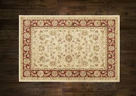 mastercraft ziegler ziegler 7709 cream red undefined rug best s and free delivery at arug co uk arug co uk