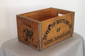 7-up Los Angeles Soda Crate