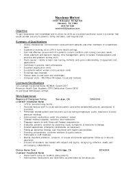 7 Lvn Resume Sample No Experience Auterive31 Com