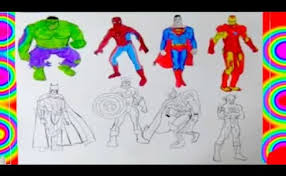 Coloriage spiderman dessin à imprimer coloriage spider man coloring miles morales coloriage spiderman batman superman rencontre de heros How To Draw Superheroes Batman Spiderman Superman Colouring Book Learning Coloring Pages Youtube Cute766