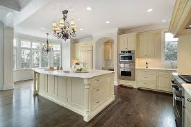 Simple Kitchen Ideas Cream Cabinets Color Cabinet With Marble Counter Large Inside Inspiration