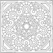 Mandala Disegno Da Colorare Gratis 15 Difficile Complesso Disegni