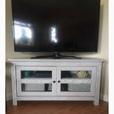 Tv Stand 48 Inch Wide Useful Shop 44 White Wash Wood Corner  Sale Free Inch Wide Tv Stand D28