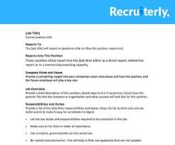 Executive Recruiters Job Description Job Descriptions Recruiting Brief