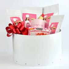 gift basket sugar free diabetic friendly large white basket