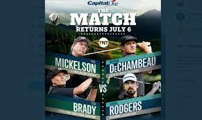 Phil Mickelson & Tom Brady vs Bryson ...