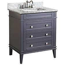 bathroom vanities 30 inch. Modren Vanities Kitchen Bath Collection KBC5930GYCARR Elizabeth Bathroom Vanity With  Intended For 30 Vanities Design 10 Inch T