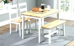 rustic white dining set distressed wonderful inspiration oak and round extending table