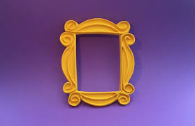 Small FRIENDS Peephole Frame from The FRIENDS FRAME Shop
