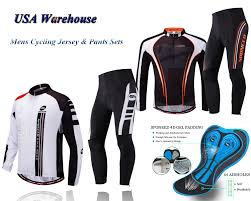 Paladin Cycling Jersey Size Chart Details About Cycling Clothing Bike Jersey Pants Sets Stretchy Cycle Trousers Cyclist Shirt