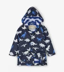 Hatley Baby Size Chart Dino Herd Colour Changing Raincoat