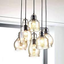 ceiling lights 6 light ceiling antique black cognac glass cer pendant chandelier with round